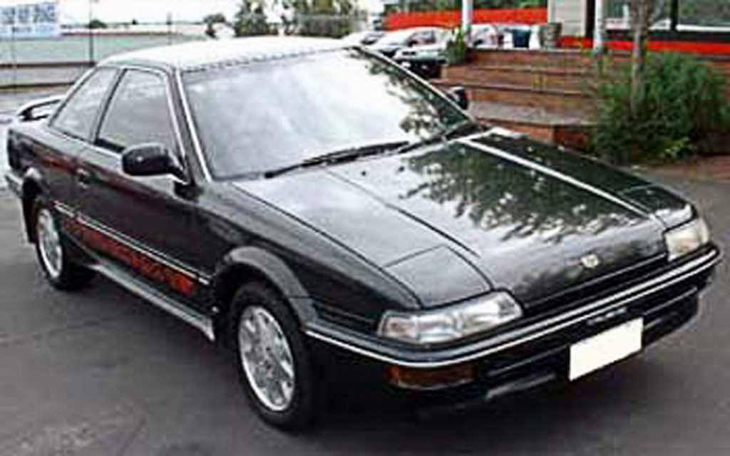 1986 Toyota Corolla Sprinter Trueno - Fotos de coches - Zcoches