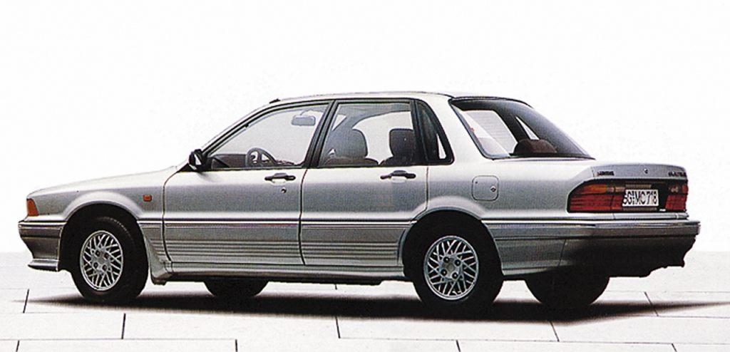 Mitsubishi Galant E3 Type 1988 Mitsubishi Lancer Mitsubishi Colt Mitsubishi Mirage