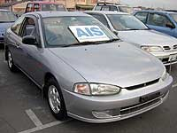 Mitsubishi Mirage Coupe CJ-type, 1998 год