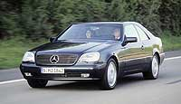 Купе Mercedes-Benz CL500 (1996 г.) ©DaimlerChrysler