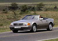 Родстер Mercedes-Benz 500 SL (1989 г.) ©DaimlerChrysler